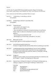 Referat År 2012, den 19. april kl 2000 ble det avholdt styremøte i ...