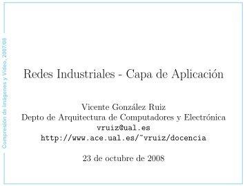 Redes Industriales - Capa de Aplicación