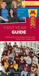 view it now as a PDF on our website - Orientation and First-Year ...