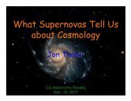 What Supernovas Tell Us about Cosmology