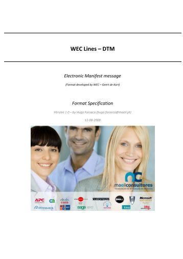 WEC Lines – DTM - MAEIL, Information Systems Engineering