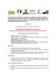 CONVOCATORIA_NACIONAL DE 10 KM 8 marzo - Atletismo en ...