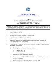 Meeting Agenda - Helix Water District