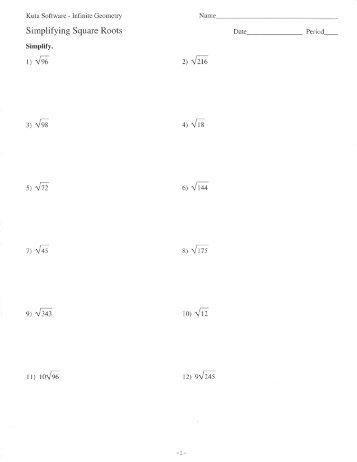 math worksheet : pictures simplify square root worksheet  toribeedesign : Multiplying Square Roots Worksheet