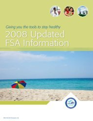 2008 Updated FSA Information - Risk Management