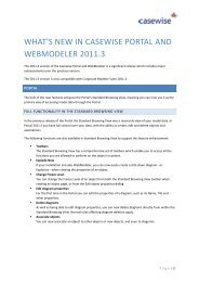 What's New in Portal and WebModeler 2011.3 - Casewise