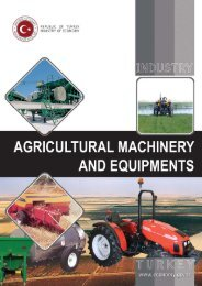 Agricultural Machinery and Equipments - Turkey Contact Point