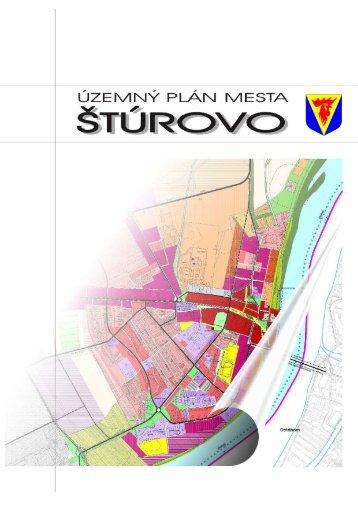 Územný plán mesta Šrúrovo - Mesto Štúrovo