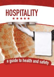 Hospitality- a guide to Health and Safety.pdf - Department of Labour