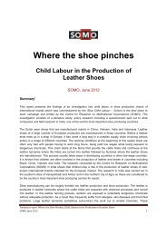 Child Labour in the production of leather shoes