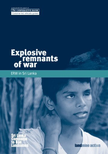 ERW in Sri Lanka - Landmine Action