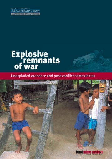 Unexploded ordnance and post-conflict ... - Landmine Action