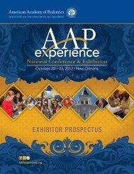 2012 Exhibitor Prospectus - American Academy of Pediatrics ...