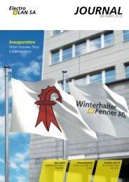 Inauguration - Winterhalter Fenner AG