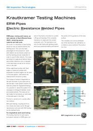 Krautkramer Testing Machines ERWPipes Electric Resistance ...