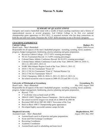 Latrell Scott\'s Resume - Coaches Inc