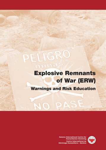 Explosive Remnants of War (ERW) - gichd