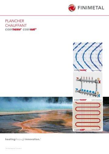Cosytherm 155 macroset do - Warmup plancher chauffant ...