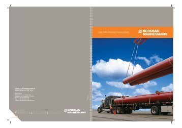 Line Pipe Product Catalogue - Borusan Mannesmann