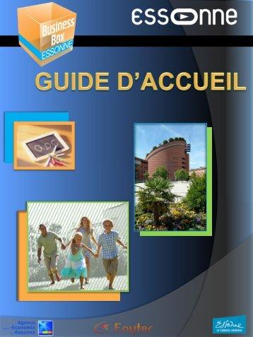 Guide d'accueil ;; 1,5Mo - Agence pour l'économie en Essonne