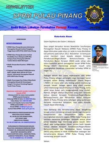 eNewsletter SPRM - SPRM Pulau Pinang - Suruhanjaya ...