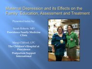 Maternal Depression and its Effects on the Family ... - ANTHC