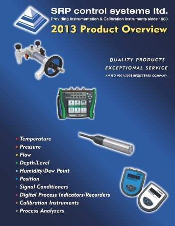 2013 Product Overview - SRP Control Systems