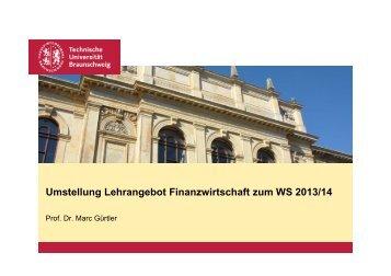 Lehrangebot Master ab WS 2013/14