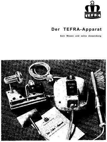 Der TEFRA-Apparat