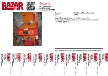 Heizung - Bazar.at