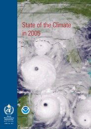 State of the Climate in 2005 - E-Library - WMO