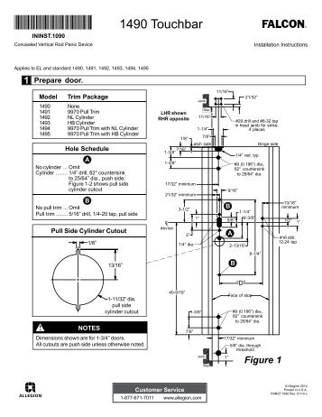 Installation Instructions - Security Technologies