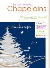 Bulletin municipal n° 15 - La Chapelle St-Luc