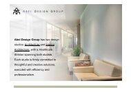 Abel Design Group has two design studios: Architecture and Interior ...