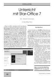 Unterricht mit Star-Office 7