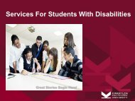 Services For Students With Disabilities - Kwantlen Polytechnic ...