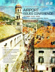 To View The Final Program - American Association of Airport ...