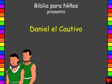 Daniel el Cautiv - Bible for Children