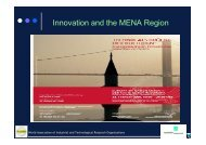Innovation and the MENA Region