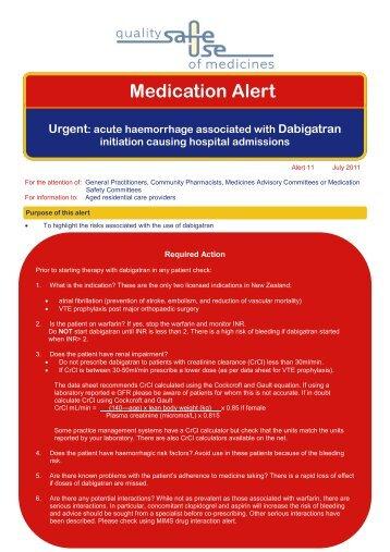 Dabigatran alert v3.pub - Hqsc.govt.nz