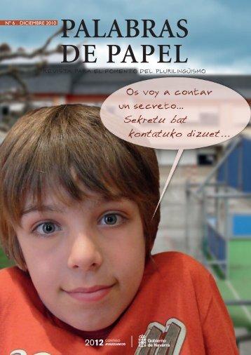PALABRAS DE PAPEL - Gobierno de Navarra