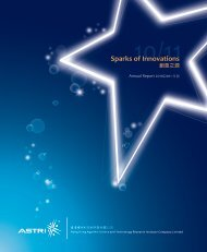 Sparks of Innovations - ASTRI