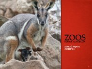 2010 - 2011 Annual Report - Zoos South Australia