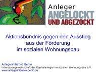 5. Informationsveranstaltung - Interessengemeinschaft der ...