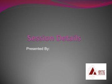 Symmetrisleep seminar - GTK Rehab