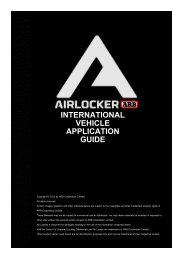 Application Charts - ARB