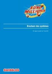 Brochure des systèmes - Swisslos