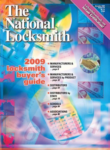 Circle 325 On Rapid Reply - The National Locksmith