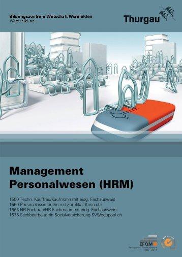 Management Personalwesen (HRM) - Bildungszentrum Wirtschaft ...