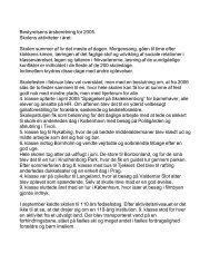 Bestyrelsens årsberetning for 2005 - Horslunde realskole